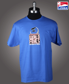 IJSBA14101 WF Logo Tee mens blue SS front