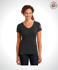 TOR16118-Ladies-V-Neck-Tee-BLACK