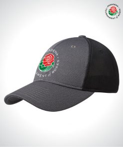 TOR16127-TOR-Stretch-Fit-Trucker-Cap-GRAY-BLACK-Front