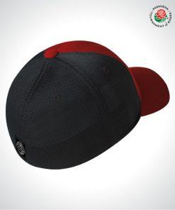 TOR16127-TOR-Stretch-Fit-Trucker-Cap-RED-BLACK-Back