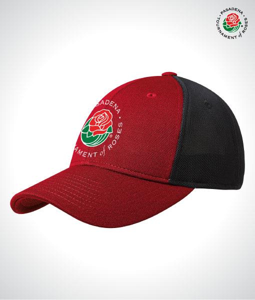 TOR16127-TOR-Stretch-Fit-Trucker-Cap-RED-BLACK-Front