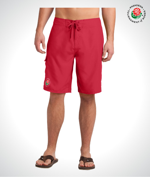 TOR1614-Mens-Board-Shorts-RED-FRONT