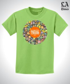 LAT1752-FOB-Youth-Book-Circle-Tee-LIME-FRONT